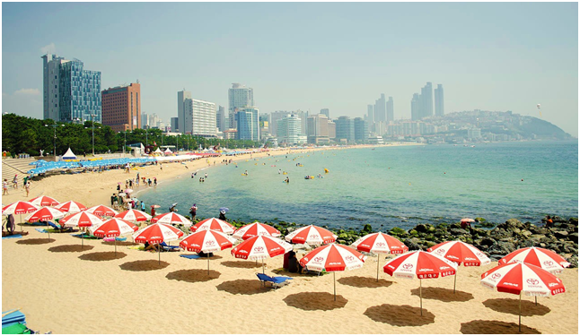 Busan's-beautiful-beaches